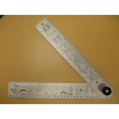 Protractor with degrees